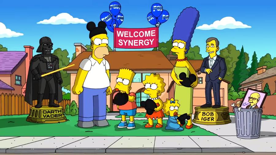 Simpsons disney web