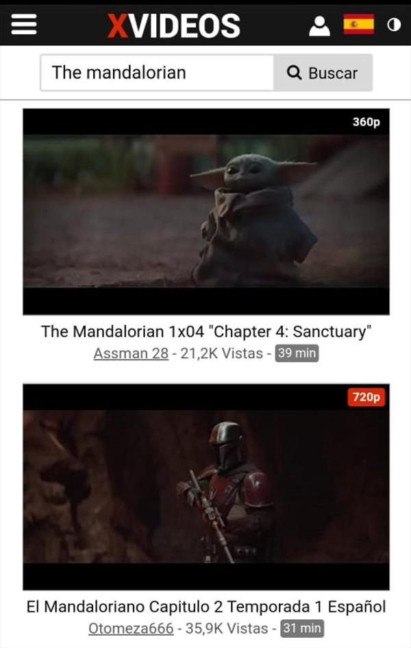 mandalorian x videos