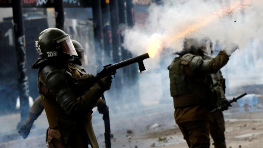 Incidentes se registran en Plaza Italia perdigones