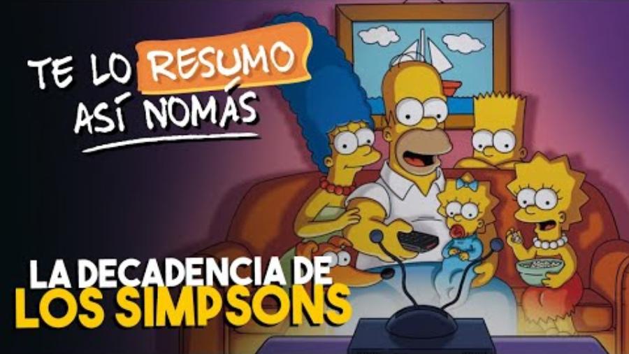 Teloresumo Analiza Cuándo Llegó La Decadencia De Los Simpson