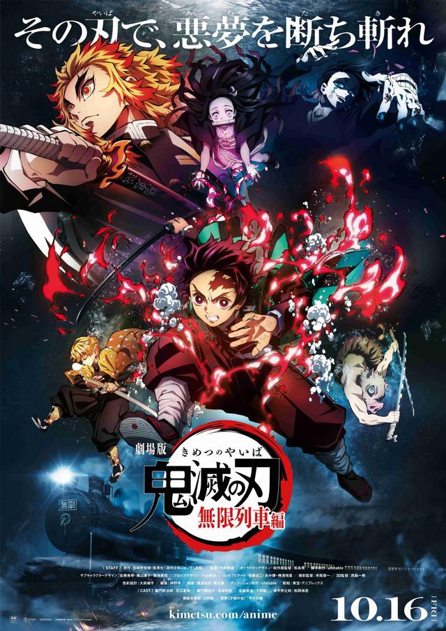 Kimetsu no Yaiba: Mugen Train poster TierraGamer