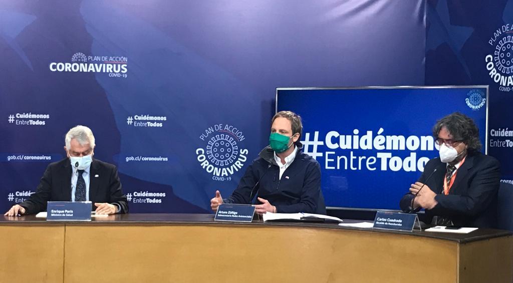 Chile registró 7000 nuevos infectados de coronavirus en 24 horas