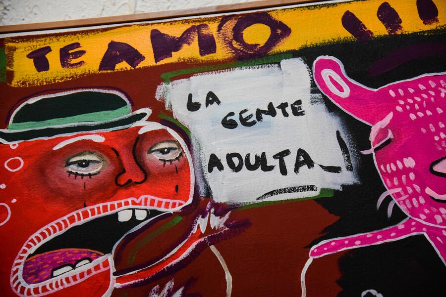 Comenzó la exposición de Mon Laferte en Valparaíso