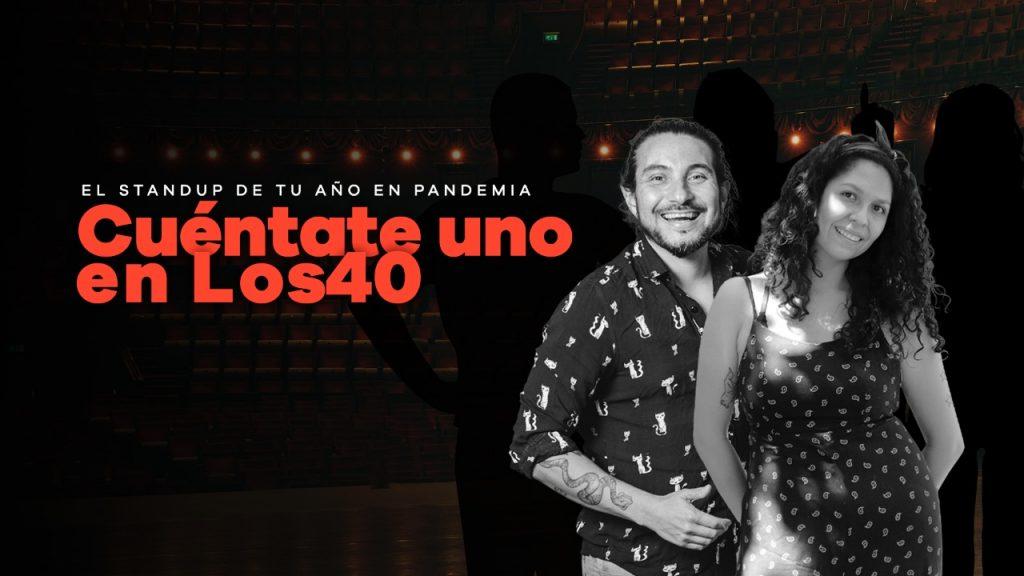 """""""Cuéntate Uno en LOS40"""": El concurso de stand up sobre tu vida en cuarentena"""