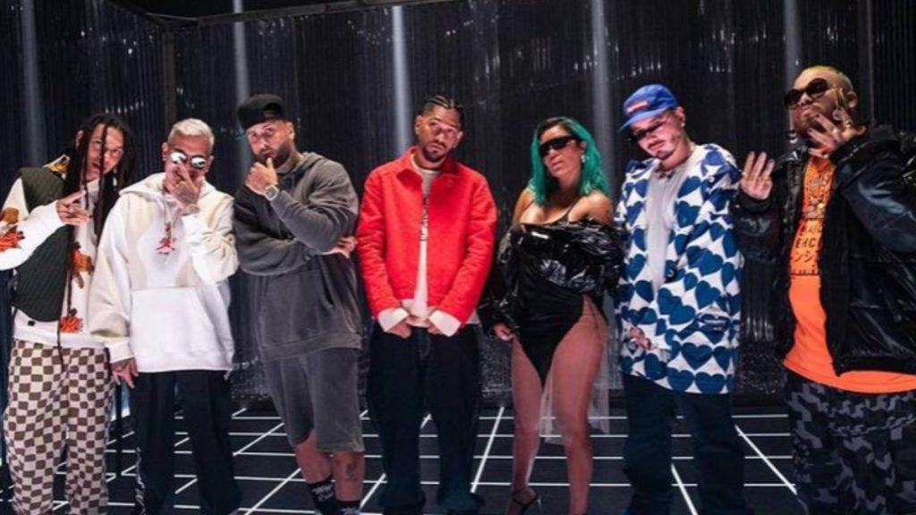 J Balvin, Nicky Jam Y Karol G Causan Sensación En _Poblado Remix_