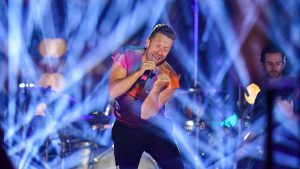 Coldplay Coloratura, 10 minutos, banda