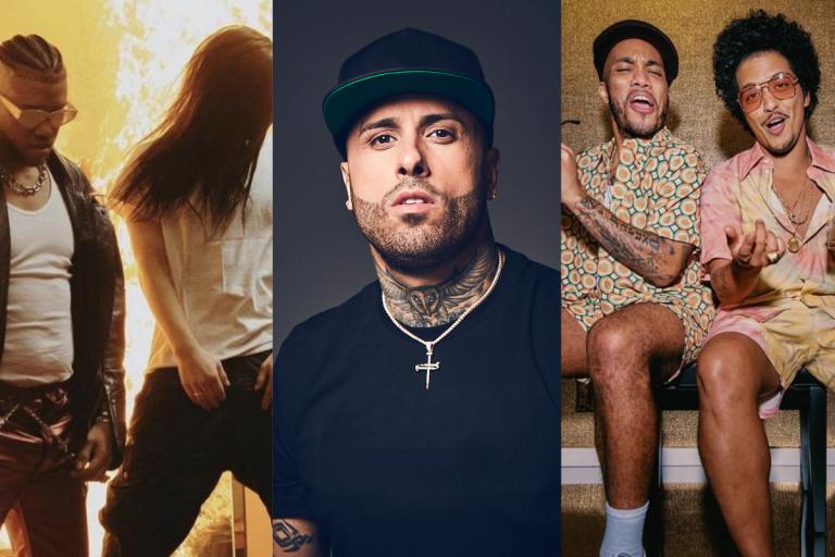 """Billie Eilish, Bruno Mars, Danny Ocean, Silk Sonic, Nicky Jam, Jhay Cortez ft Skrillex y más en un nuevo """"Viernes de Estrenos"""""""