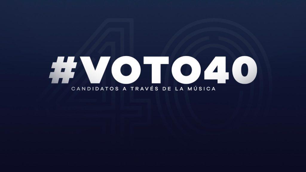 Voto40 precandidatos presidenciales