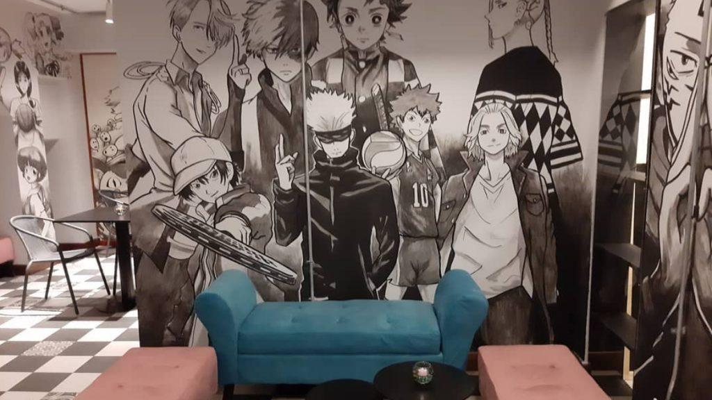 Cafe Anime Santiago