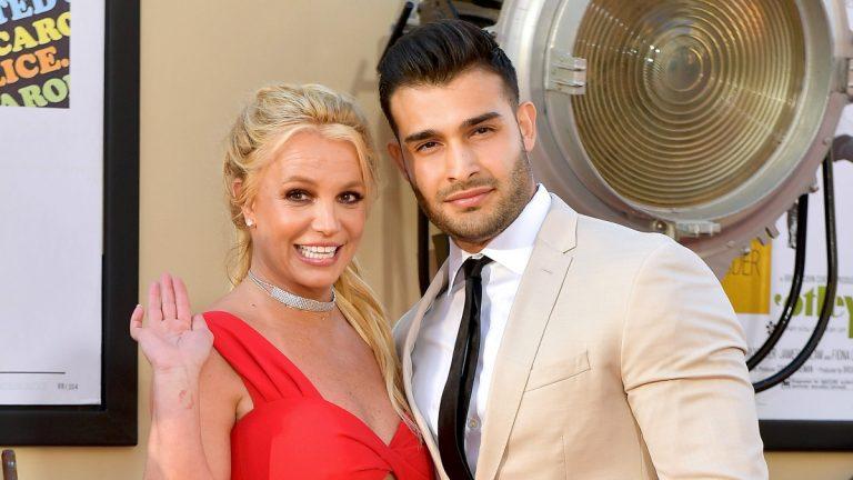 Britney Y Sam Asghari