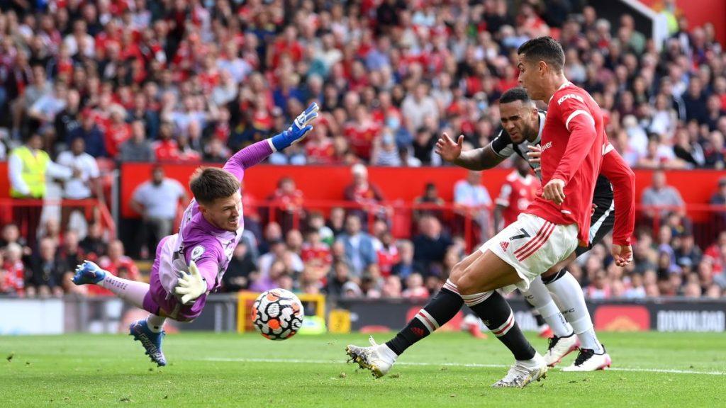 Mira Los Goles De Cristiano Ronaldo En Su Debut Por El Manchester United