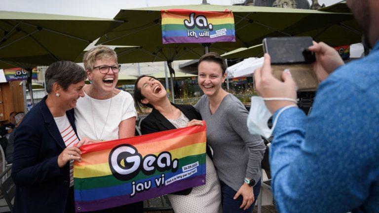 Suiza Aprueba El Matrimonio Igualitario Mediante Un Referéndum