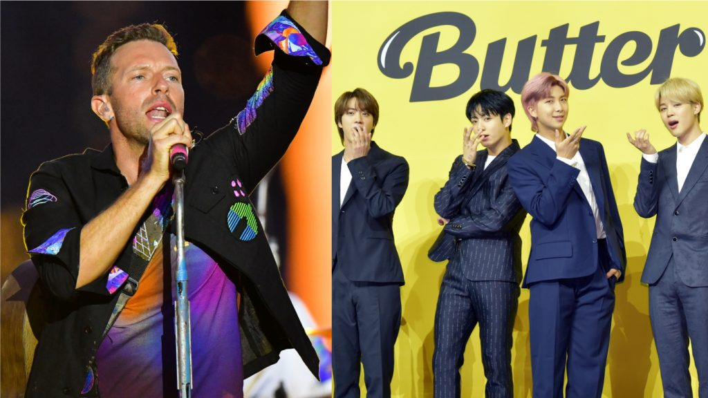 Bts Coldplay