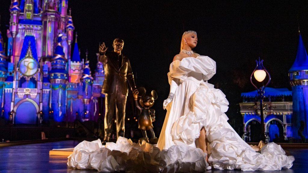 Christina Aguilera Aniversario Disney