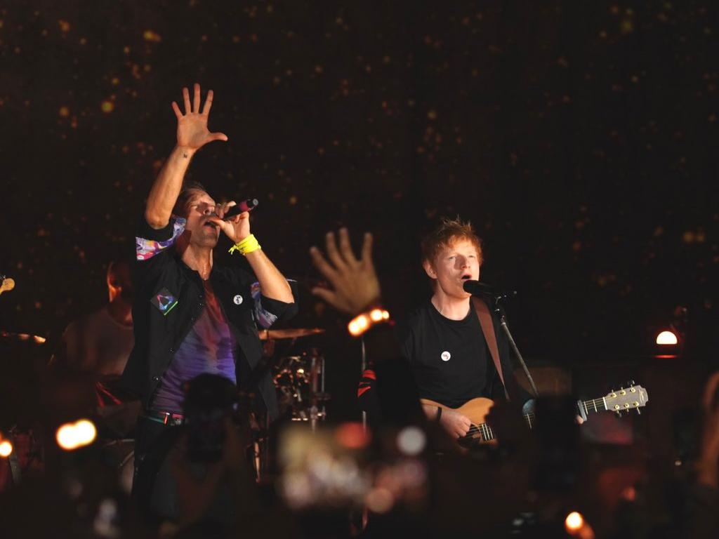 Coldplay & Ed Sheeran