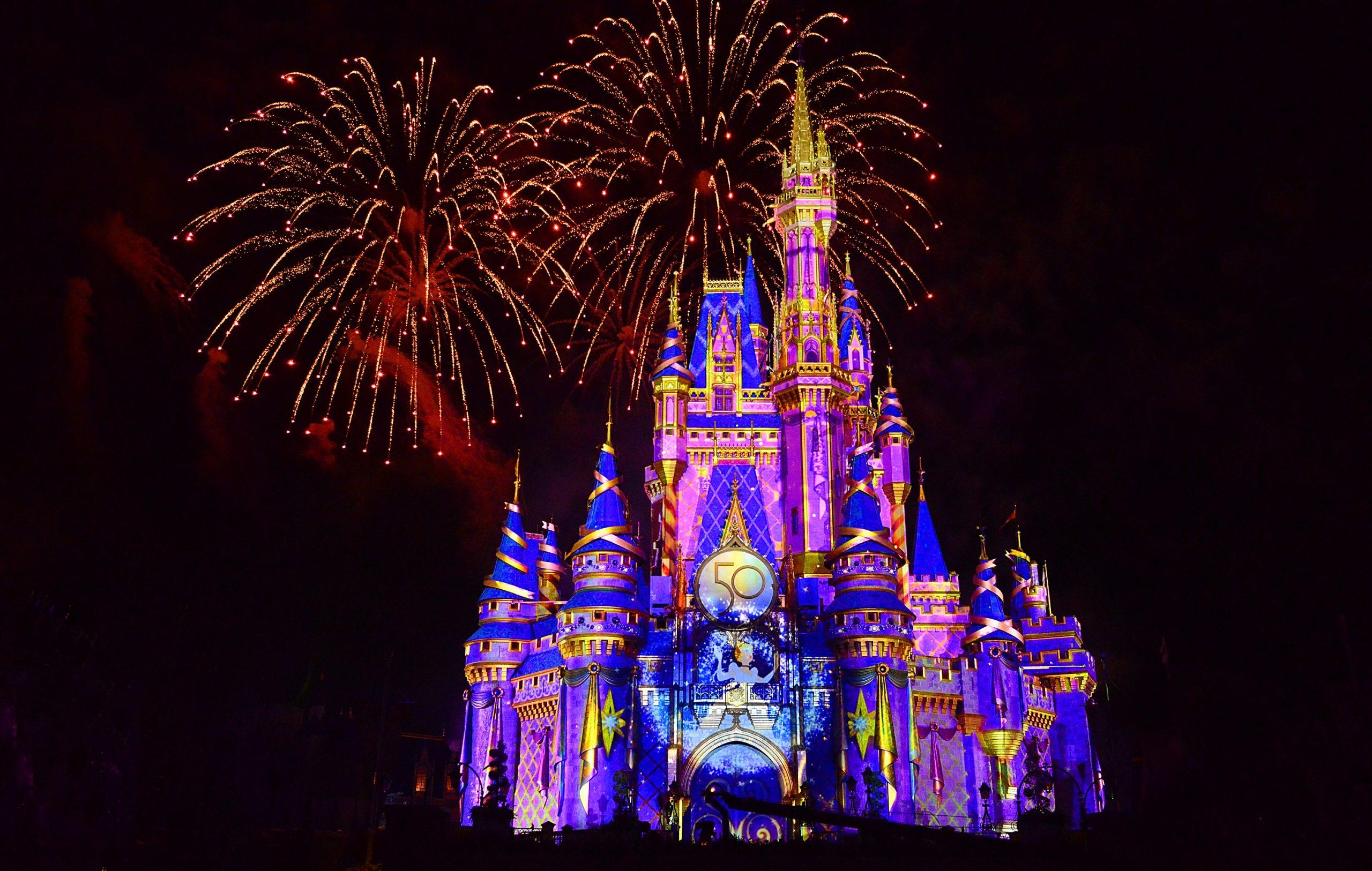 """The World's Most Magical Celebration"" Walt Disney World Resort 50th Anniversary"