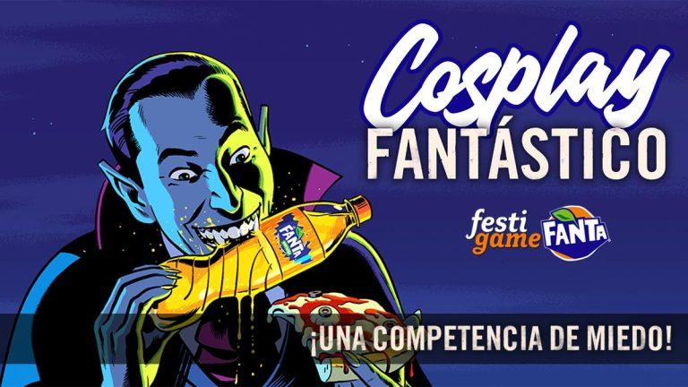 ¡FestiGame y Fanta van a repartir 1 millón de pesos entre los mejores cosplay para Halloween!