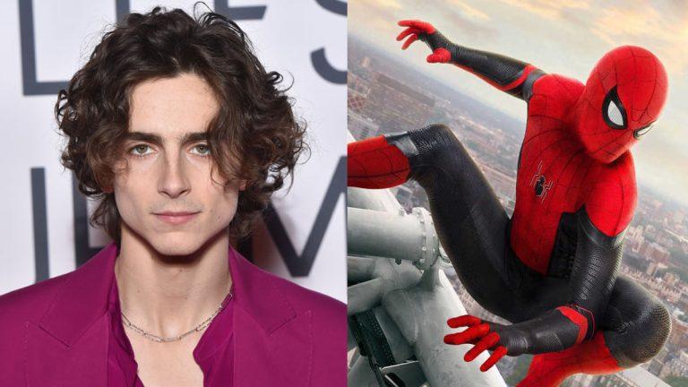 Timothée Chalamet y actor de Sex Education casi interpretan a Spiderman